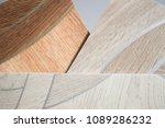 linoleum samples on white... | Shutterstock . vector #1089286232