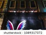 los angeles  california on... | Shutterstock . vector #1089317372