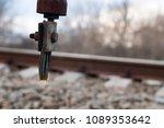 wire breakage of aluminum... | Shutterstock . vector #1089353642