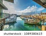 Boats In Fisherman\'s Wharf In...