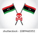 libya emblem fatality | Shutterstock .eps vector #1089460352