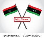libya emblem website | Shutterstock .eps vector #1089460592