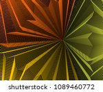 vector illusive surreal art... | Shutterstock .eps vector #1089460772