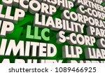 llc limited liability... | Shutterstock . vector #1089466925
