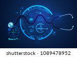 concept of health care... | Shutterstock .eps vector #1089478952