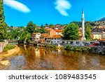 view of the historic centre of... | Shutterstock . vector #1089483545