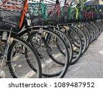 bikes rental service for... | Shutterstock . vector #1089487952