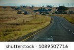 Small photo of african country road
