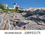 pemaquid point lighthouse ... | Shutterstock . vector #108952175