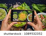 phone photography of food for... | Shutterstock . vector #1089532352