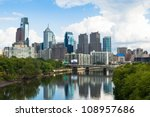 Skyline View Of Philadelphia ...