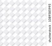 tileable trendy staggered 3d... | Shutterstock .eps vector #1089585995