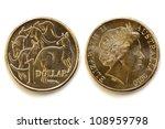 Australian Dollar Coin  Front...