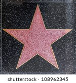 hollywood   june 26  empty star ... | Shutterstock . vector #108962345