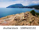 view of mount ayu dag from cape ... | Shutterstock . vector #1089632132