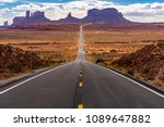 monument valley navajo tribal... | Shutterstock . vector #1089647882