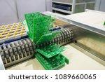 electronic circuit board... | Shutterstock . vector #1089660065