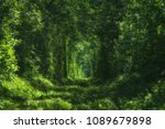 famous romantic place called...   Shutterstock . vector #1089679898