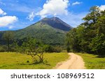 Dirt Road Leading To The Arenal ...