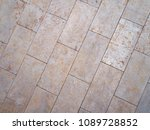 real stone wall surface with... | Shutterstock . vector #1089728852