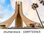 algiers  algeria   march 12 ...   Shutterstock . vector #1089733565