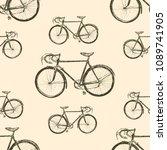 Retro Bicycle. Graphics...
