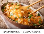 home french chicken chasseur... | Shutterstock . vector #1089743546
