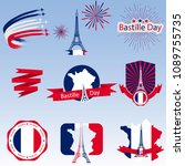 bastille day  great design for... | Shutterstock .eps vector #1089755735