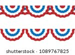 round bunting decoration ...   Shutterstock .eps vector #1089767825