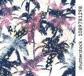 beautiful trendy seamless... | Shutterstock .eps vector #1089781298