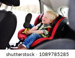 portrait of a young child of a... | Shutterstock . vector #1089785285