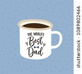 birthday or fathers day... | Shutterstock .eps vector #1089802466