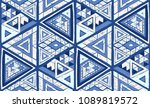 indian geometric folklore... | Shutterstock .eps vector #1089819572