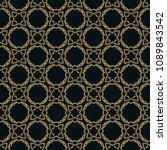 Seamless Pattern. Graphic Line...