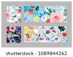 creative universal artistic... | Shutterstock .eps vector #1089844262