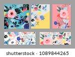 creative universal artistic... | Shutterstock .eps vector #1089844265