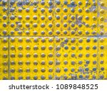 top view old blindblock texture ... | Shutterstock . vector #1089848525