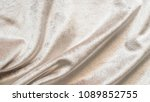 beige gold velvet background or ... | Shutterstock . vector #1089852755
