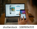 chiang mai  thailand   may 14 ... | Shutterstock . vector #1089856535