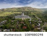 aerial view of state capitol... | Shutterstock . vector #1089880298