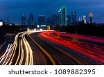 march 5  2018  dallas skyline... | Shutterstock . vector #1089882395