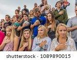 july 22  2017 norwood colorado  ... | Shutterstock . vector #1089890015