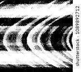 grunge halftone black and white ... | Shutterstock .eps vector #1089892712