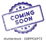 coming soon stamp seal. vector... | Shutterstock .eps vector #1089926972