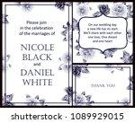 vintage delicate invitation... | Shutterstock . vector #1089929015