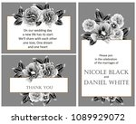 vintage delicate invitation... | Shutterstock . vector #1089929072