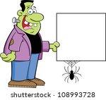 cartoon illustration of a... | Shutterstock .eps vector #108993728