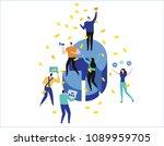 leadership qualities creative... | Shutterstock .eps vector #1089959705