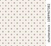 vector seamless pattern.... | Shutterstock .eps vector #1089967382