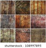 Collection Vintage Oak Wood...